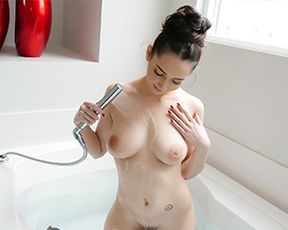 Getting Busy In The Bathtub